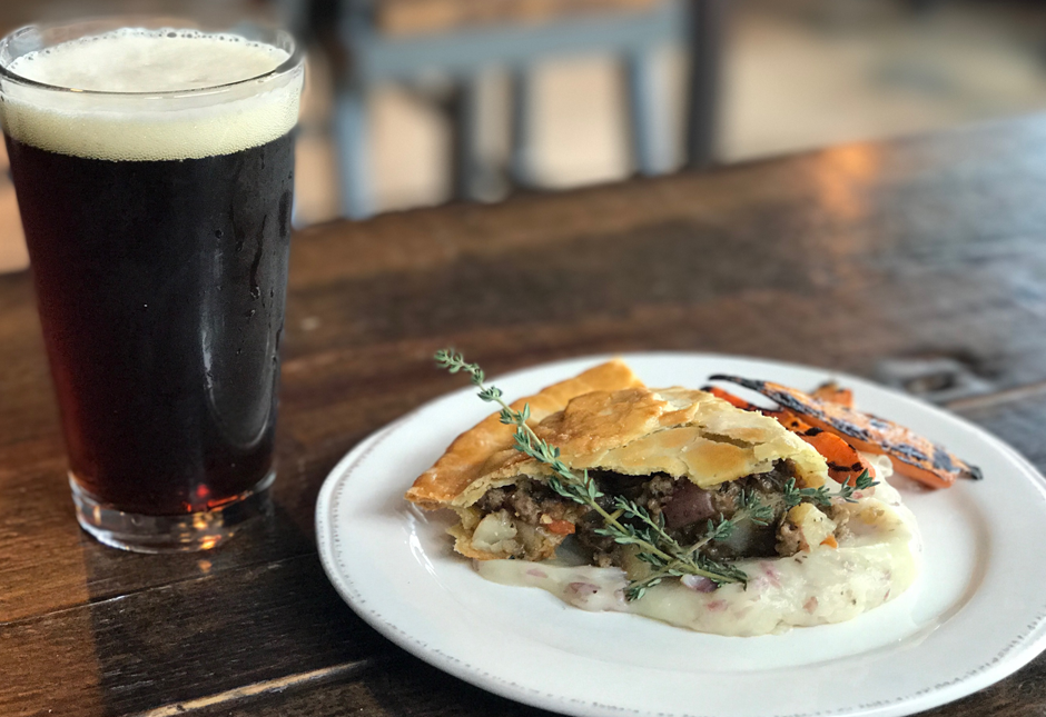 Brix Project Lamb Stout Pie