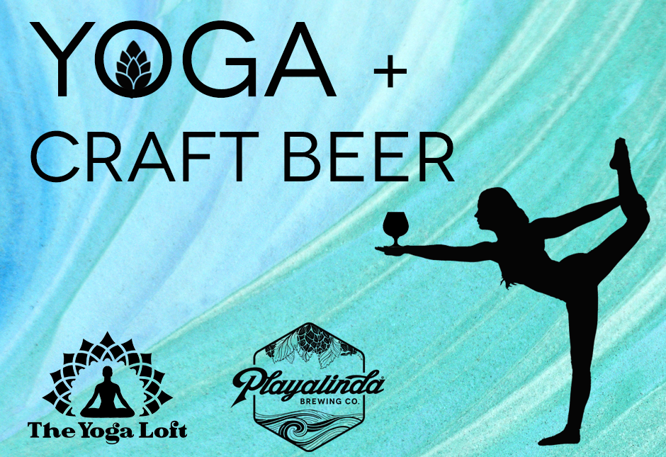 yoga + craft beer with the yoga loft - titusville