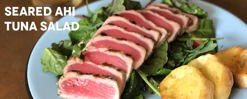 Brewery Bites - Seared Ahi Tuna Salad