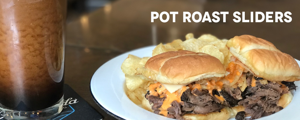 Brewery Bites - Pot Roast Sliders