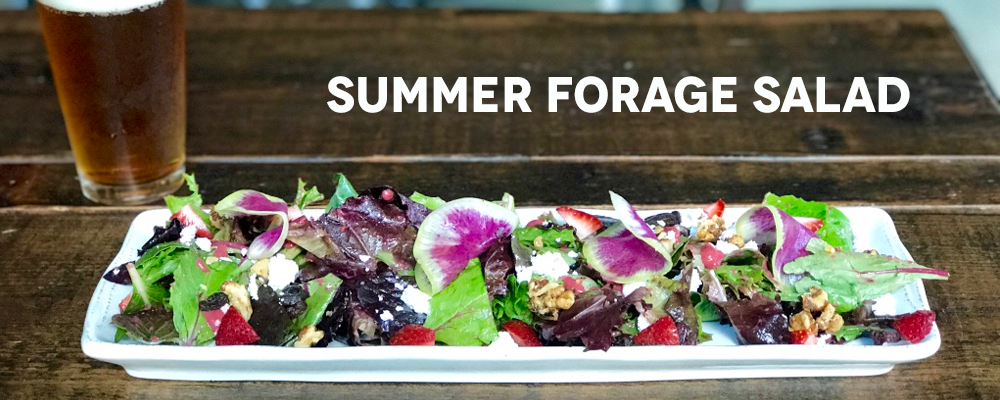 Brix Project - Eat - Summer Forage Salad