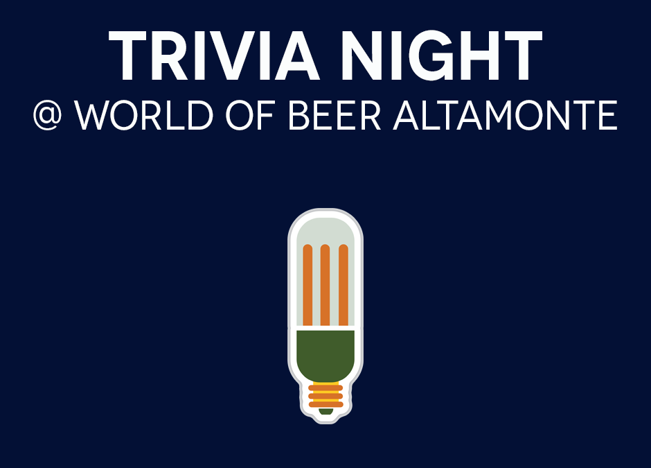 Trivia Night with Playalinda Brewing Company @ World of Beer Altamonte