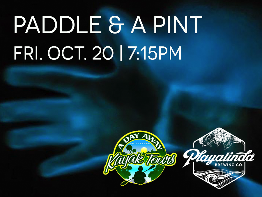 Bioluminescent Paddle & A Pint - Playalinda Brewing Company - Hardware Store & A Day Away Kayak Tours