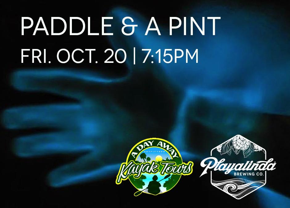 Bioluminescent Paddle & A Pint - Playalinda Brewing Company - Hardware Store & A Day Away Kayak Tours