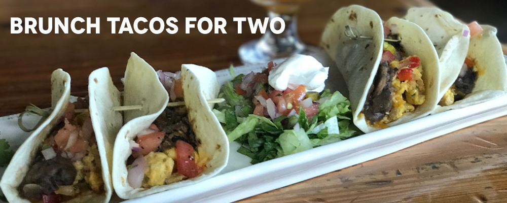 brunch tacos for two slider