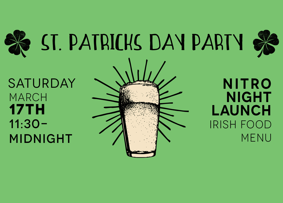 St. Patrick's Day with Playalinda Brewing Company