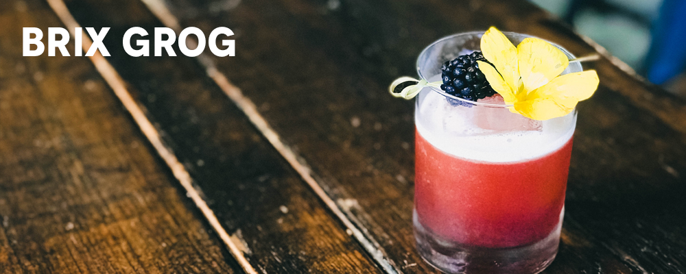 Summer Cocktail Menu - Brix Grog