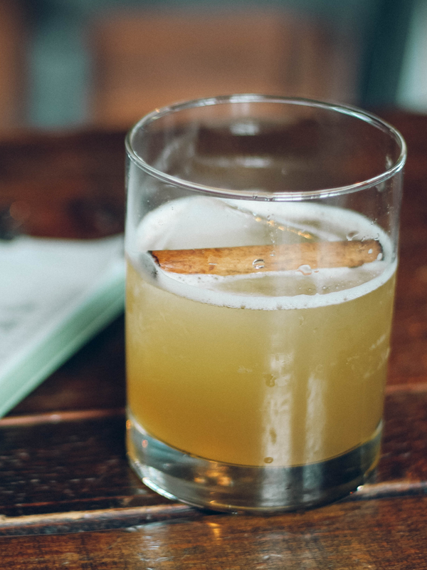 Playalinda Brewing Company - Brix Project Fall Craft Cocktail Menu: Smokey & The Bourbon